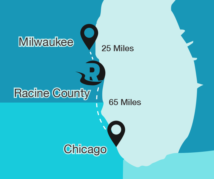 Milwaukee-Racine-Chicago
